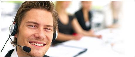 A 24/7/365 customer care service